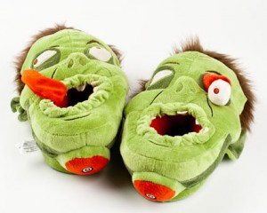 Yes.  Zombie Slippers.  Can I tell you how much Jessica Dwyer wants these?