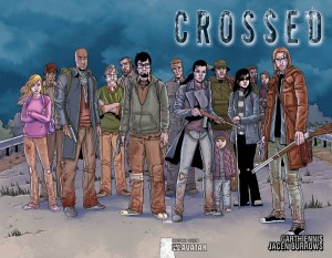 crossed cast