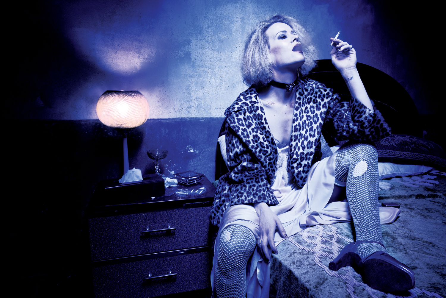 AMERICAN HORROR STORY: HOTEL -- Pictured: Sarah Paulson as Sally. CR: Frank Ockenfels/FX